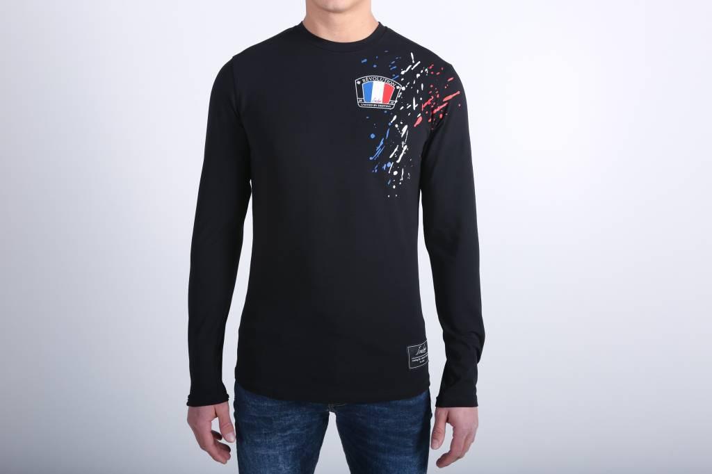 Icelus Clothing Paint Longsleeve Black