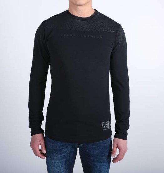 Icelus Clothing Wing Longsleeve Black/Black