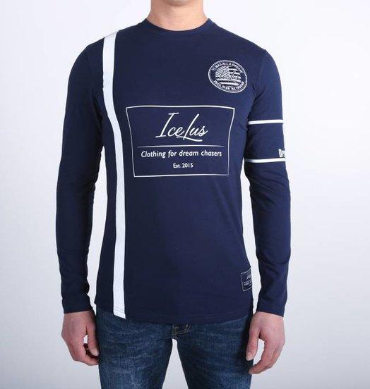 Icelus Clothing Football Jersey Blue