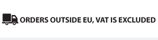 Orders outside EU, VAT is excluded