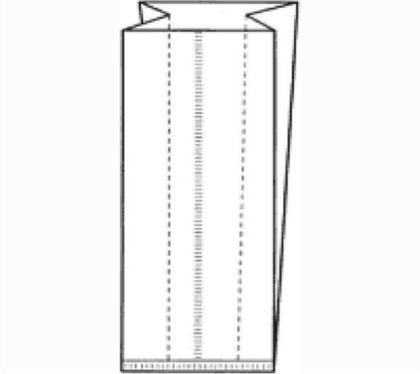 Sachets polypropylène côté pli - 1000 pièces