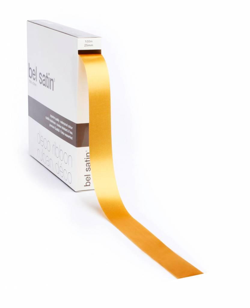 Bel Satin Ribbon - Gold