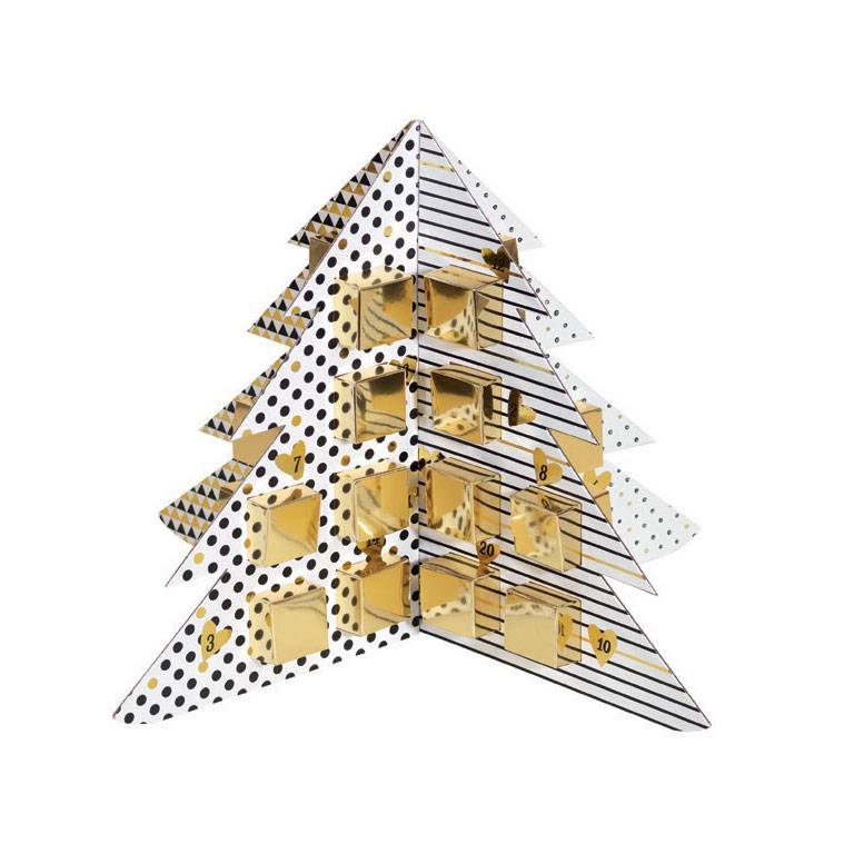 Advent kalender 40*40*30 cm - 6 stuks