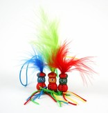Farbige Anhänger Piet - 18mm - 50 Stück