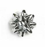 Minibow silver  38 mm - 100 pieces