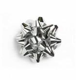 Minibow zilver 38 mm - 100 stuks