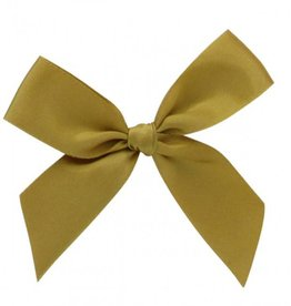 Ready to go ribbon with sticker gold - 6*6cm - 200 pieces