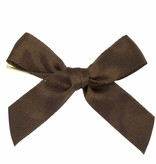 Ready to go ribbon with clip - brown