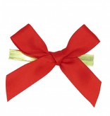Ready to go ribbon with clip - red