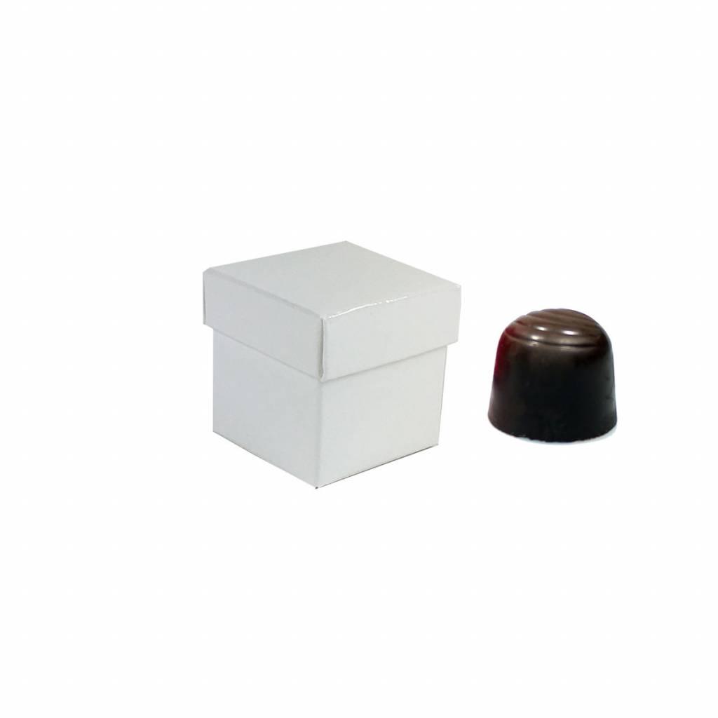Cutebox White - 40*40*40mm - 100 pieces