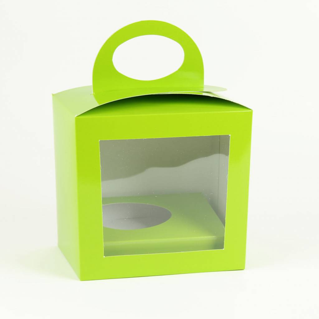 Easter egg box Lime - 25 pieces