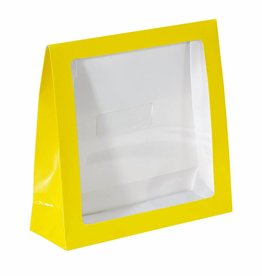 Yellow window bag - 50 pieces