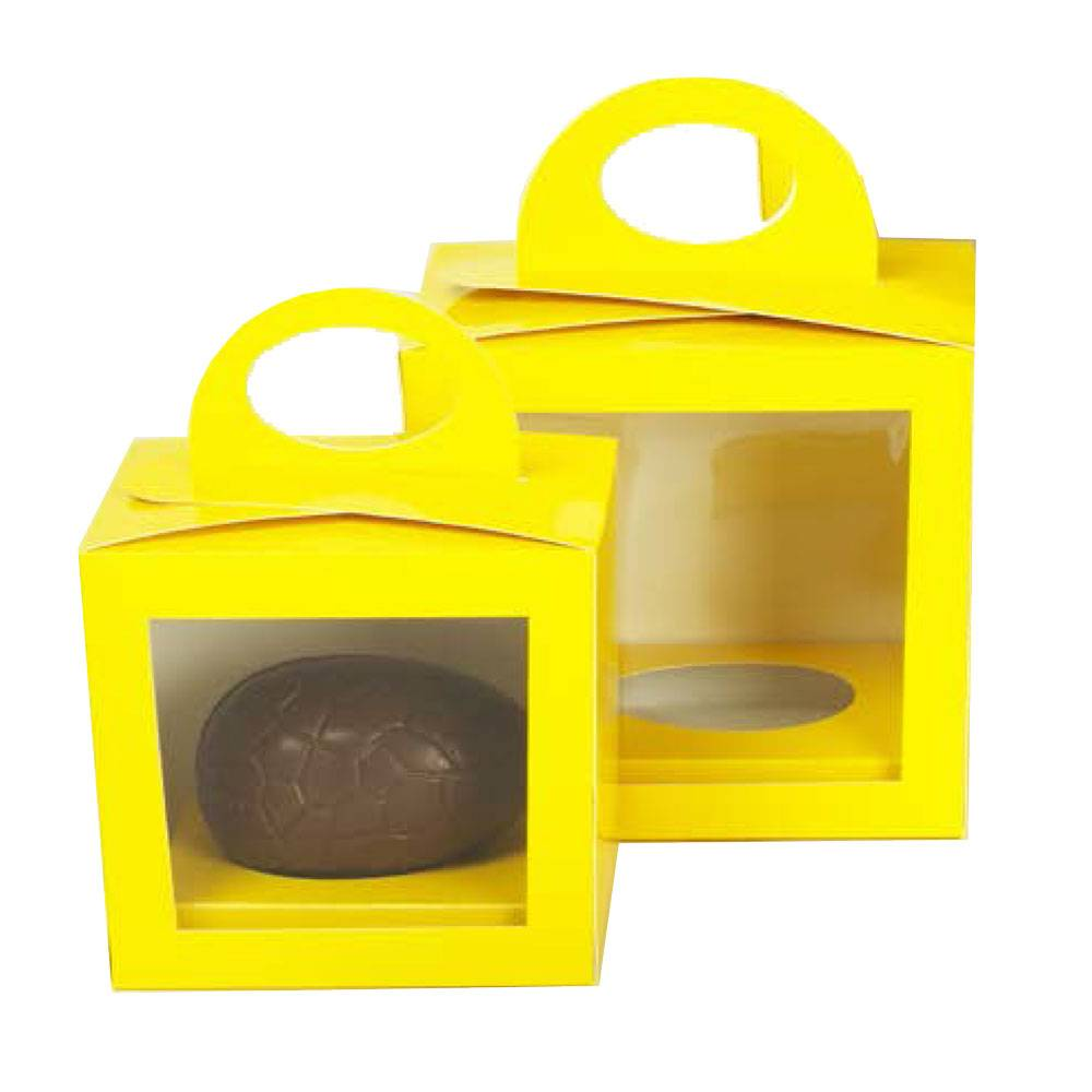 Easter egg box Yellow - 25 pieces
