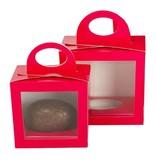 Caja fuchsia para huevo de Pascua - 25 unidades