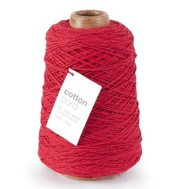 Cotton Cord - Red