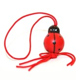 Pendant Ladybug - 20 mm - 50 pieces