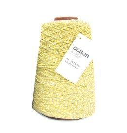 Cotton Twist Cord - Yellow