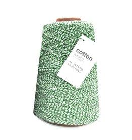 Cotton Twist Cord - Emerald