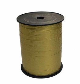 Ribbon curly - Metallic Gold Paper Look
