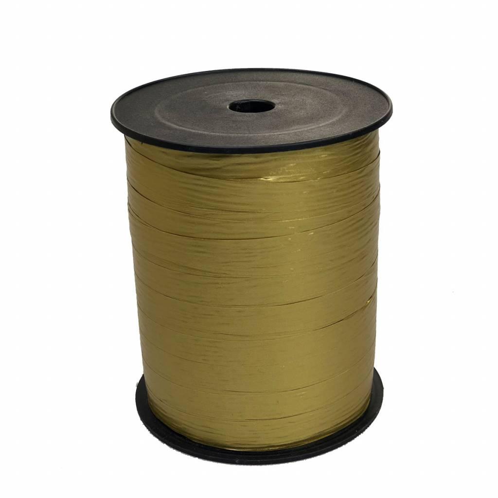 Cinta para rizar - Metallic Gold Paper Look