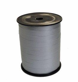 Ribbon curly - Metallic Silver Paper Look