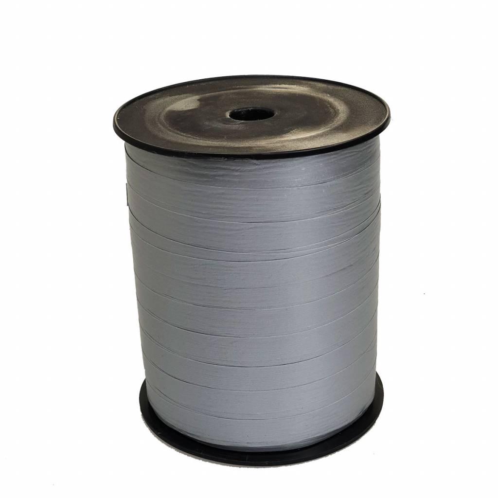 Krullint - Metallic zilver Paper Look