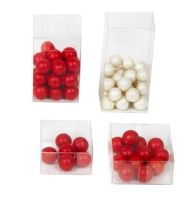 Transparant box wit lid - 200 pieces
