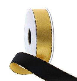 Band Bicolor Gold/Schwarz