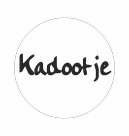 "Sticker Old School ""Kadootje"""