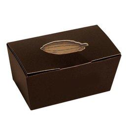 Ballotin brown with cacao bean