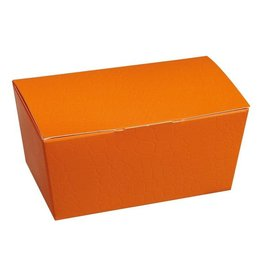 "Ballotin ""Orange croc-skin"""