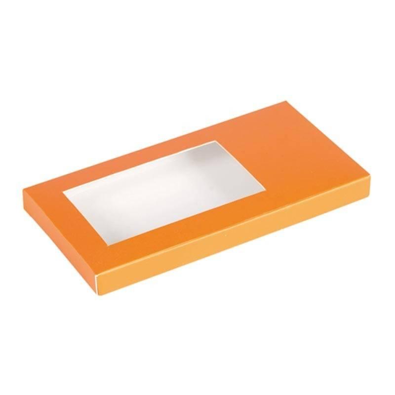 Tablette Schachtel Orange 160*80*15mm - 50 Stück