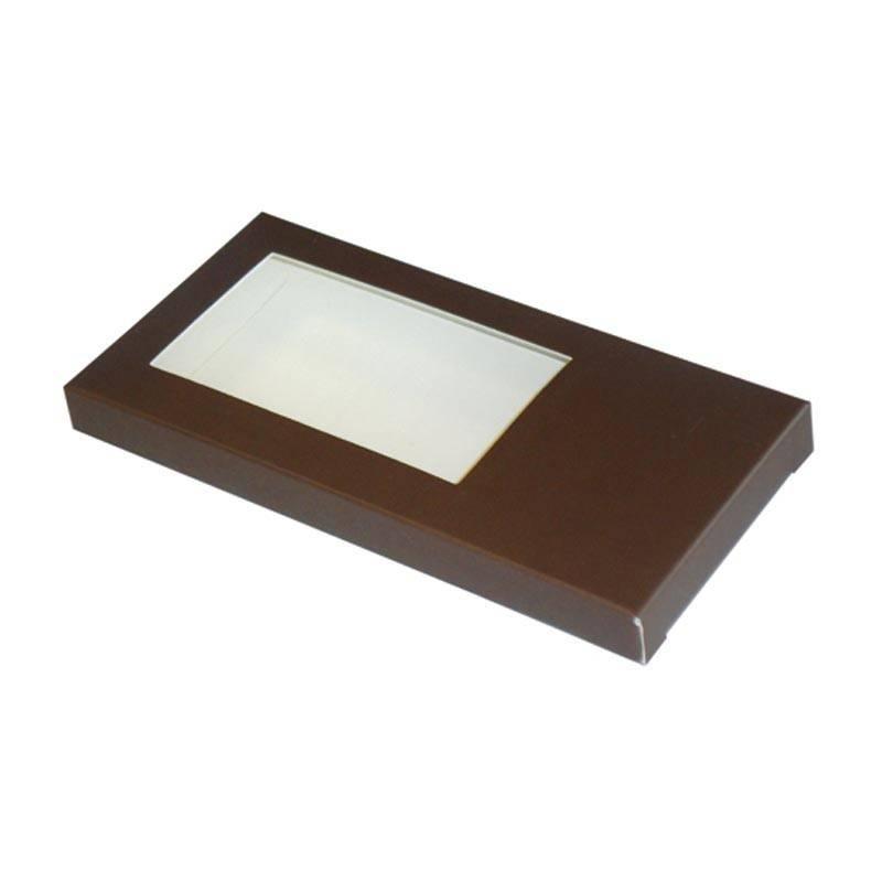 Tablet doosje  chocolade 160*80*15mm - 50 stuks