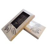 Tablette Schachtel Brut de Cacao 160*80*15mm - 50 Stück