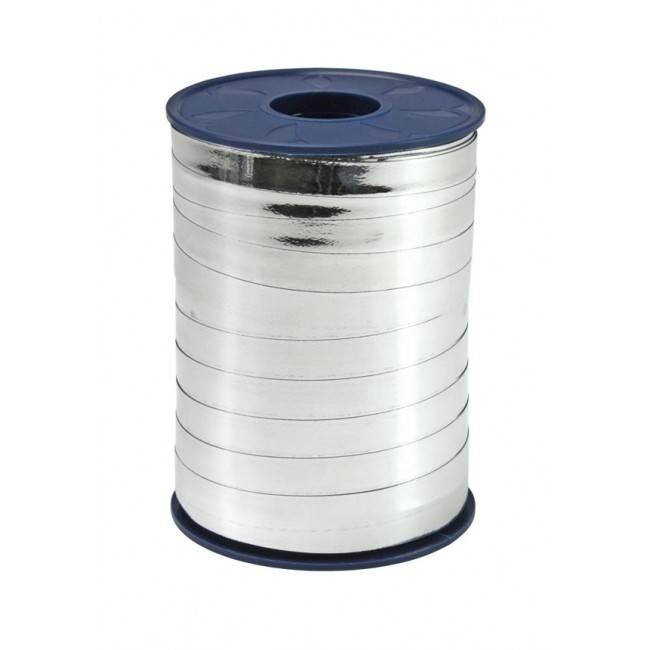 Ringelband - Silber Metallic