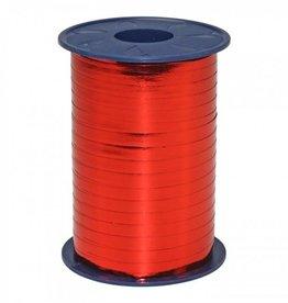 Krullint - rood Metallic