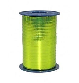 Cinta para rizar - verde  limón  Metallic