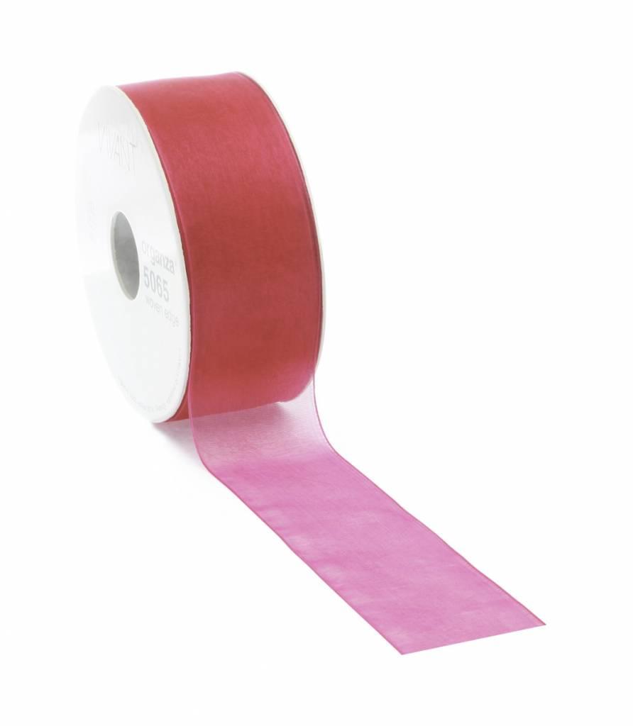 Organza ribbon - Magenta