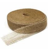 Jute natural ribbon - 5 cm - 40 meters