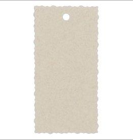 Kadokaartje - Natural Paper Gold