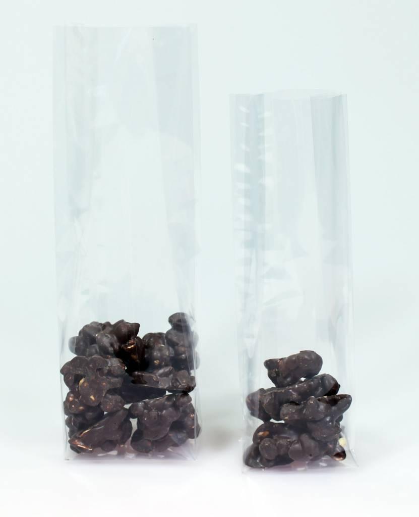 Blokbodemzakjes 40 µm - Acryl - 80*50 * 250 mm -  1000 stuks