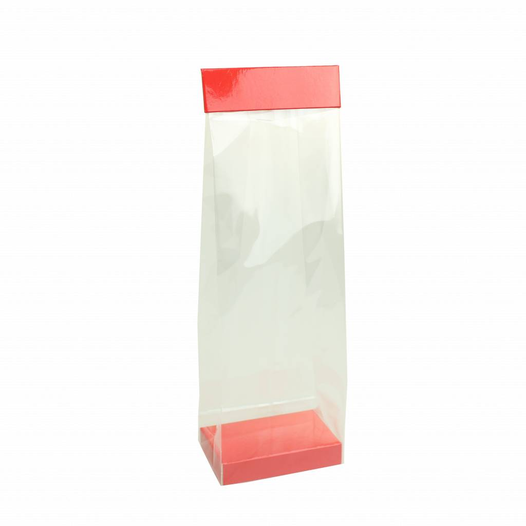 Elysée  clip on top and/or a base in the bag - red - 150 pieces