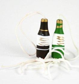 Gelukshangertje wijnfles