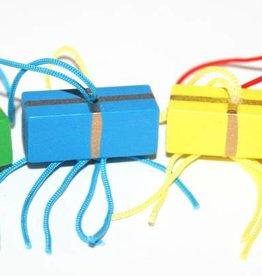 Pendentif cadeau  coloré
