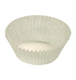 Candy cups Nr 8 white - 1000 pieces
