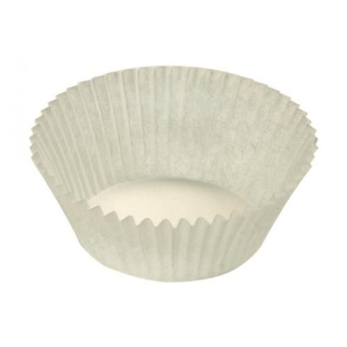 Candy cups Nr 4  white - 25 * 18 - 61 mm - 1400 pieces