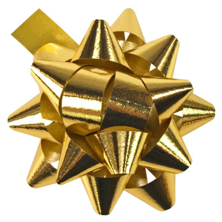 """Mini - bow """"Mexico"""" - glanzend goud - 50mm - 250 stuks"""