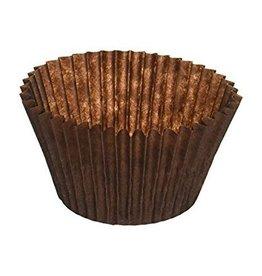Cuvetten (caisses) bruin - verpakt per 1400 stuks