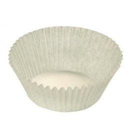Candy cups Nr 3 white - 1400 pieces