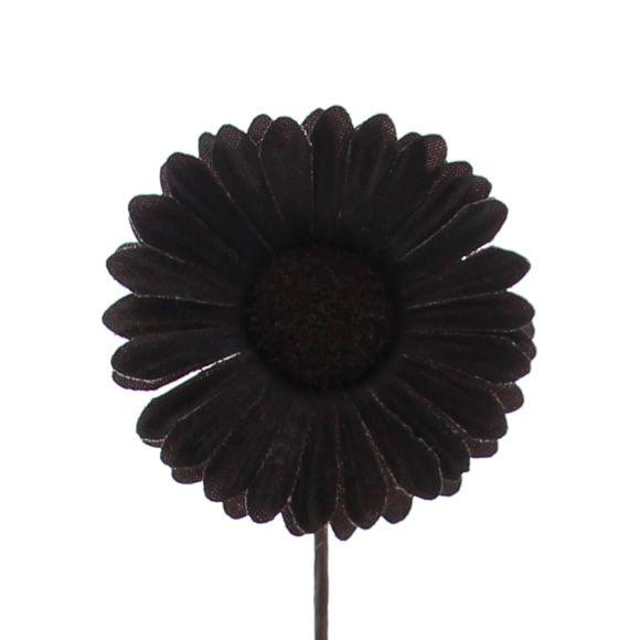 Blume Germini - 65mm - Dunkelbraun - 96 Stück